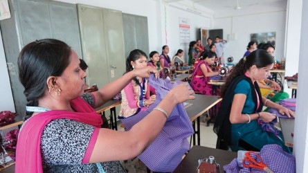 Initiating women's livelihoods in Ankleshwar