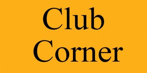 Club Corner – July 2016