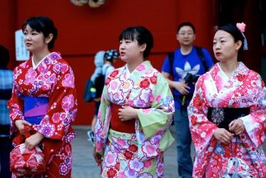 Japan... where the  clichés fall