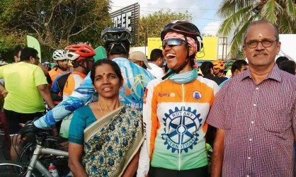 Cycling for Swachh Bharat