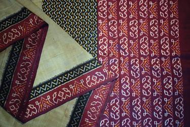 Ikkat… the interlock of colours