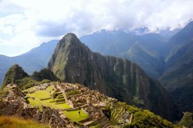 The Incan citadel of Machu Picchu