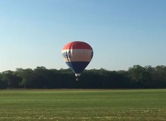 Rotary hosts hot air balloon festival
