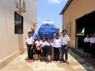 Rotary brings clean water to Cambodian students
