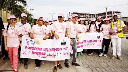 Walkathon for awareness on breast cancer in Nigeria