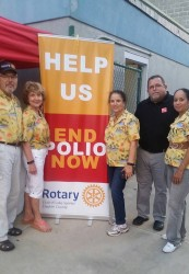 Rotary clubs join hands for End Polio Now campaign