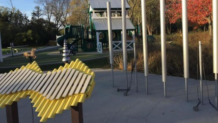 Naperville Rotary funds music instruments at park