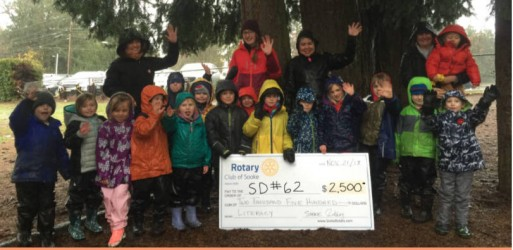Rotary helps children to explore nature