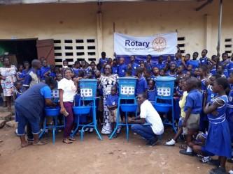 Rotary gifts to Ghanaian school