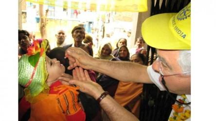 Eradicating polio: A Rotary mission