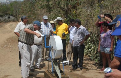 Rotary wells bring clean water to Nicaragua