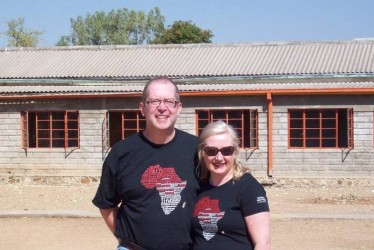 Rotary containers to Zimbabwean village