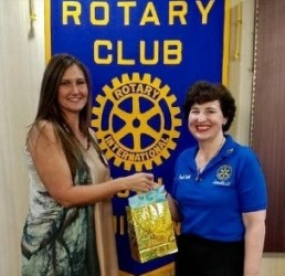 Guest speakers inspire at Rotary meeting