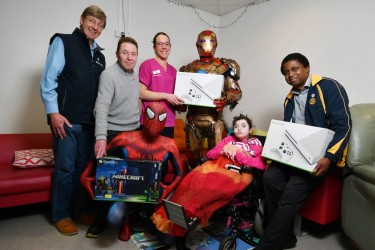 Rotary gifts Xbox to children's hospital