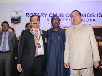 Rotary Club Lagos Island installs new President