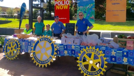 Rotary street stall to benefit farmers