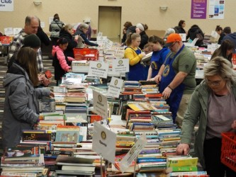 Rotary's book sale popular with local readers