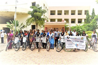 Rotary bicycles for Pune girls