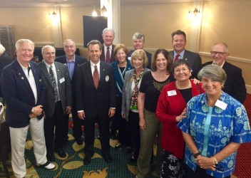 Rotarians heap praise on DGND for his service