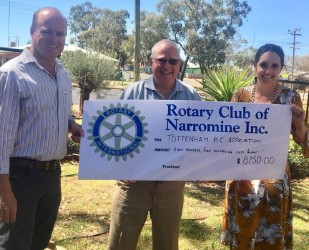 Rotary funds excursion of school students