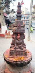 Toxic kumkum-free campaign in Nepal temples