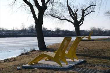 A Rotary Park to beautify Lincoln Street Docks in Canada
