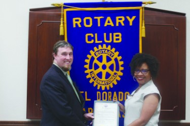 Rotary club receives state proclamation