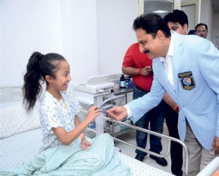 Rotary gifts a new operation theatre