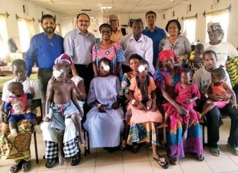 Restoring eyesight for Gambian children