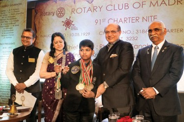 RC Madras gives Kris Chitale Award to a young archer