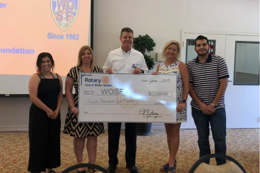 A Rotary club in Florida donates big to charities