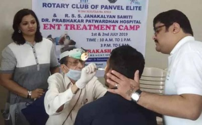 An ENT camp at Panvel offers non-surgical solutions