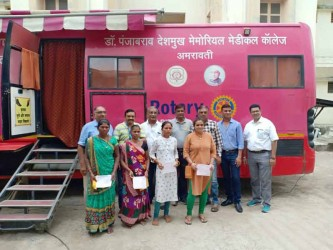 RC Gandevi holds cancer screening camps