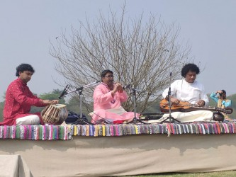 Melody on the banks of the Yamuna